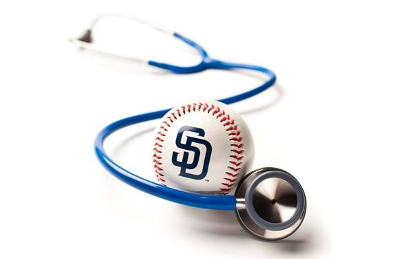 Padres stethoscope