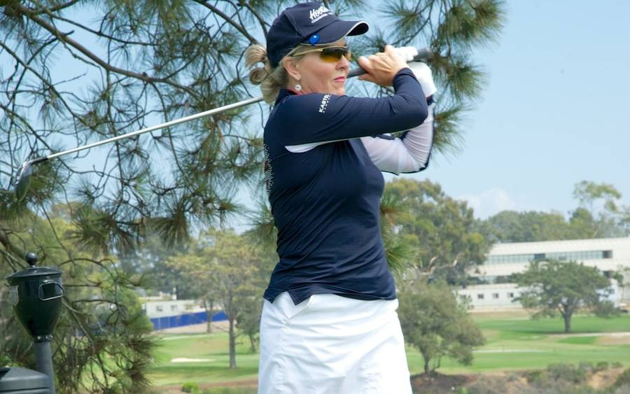 Pam Blakely, golfer, co-chairwoman of Scripps Clinic Golf Tournament