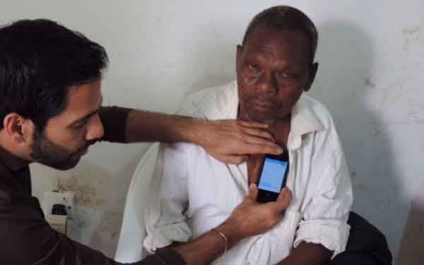 Scripps Clinic cardiologist Dr. Bhavnani uses Mobile Health (mHealth) in Uganda. Wireless mHealth technology holds great promise in the undeveloped world.