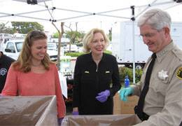 Scripps helped San Diego collect more than 4,000 pounds of prescription drugs during Prescription Take-Back Day.