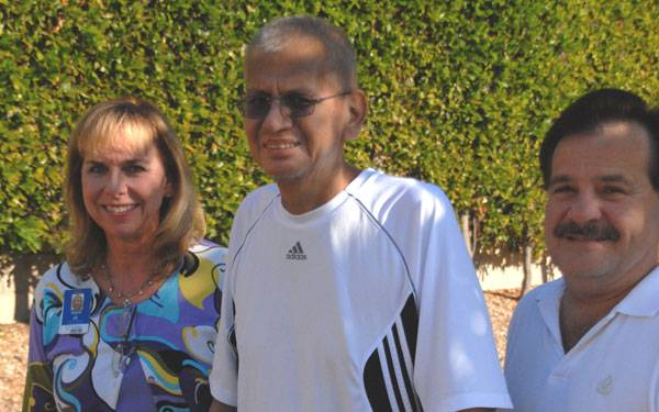 Richard Perez is Scripps Green Hospital's 500th liver transplant patient.