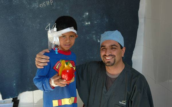 Dr.Ritvik Mehta, of Scripps Heralth,San Diego on Medical Mission