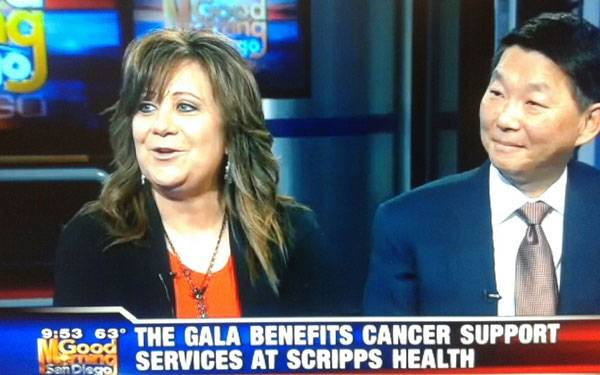 Gala Benefits at Scripps Health San Diego: Robin Rady and Dr. Ray support Cancer