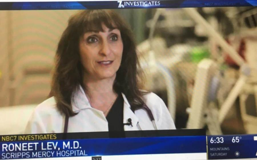Roneet Lev, MD, emergency medicine physician at Scripps Mercy Hospital San Diego talks with the news about the opioid crisis.