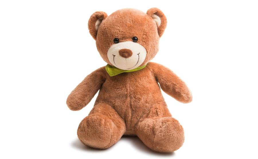 In addition to flowers, Scripps Hospital gift shops also offer gifts like plush stuffed animals -- including teddy bears.
