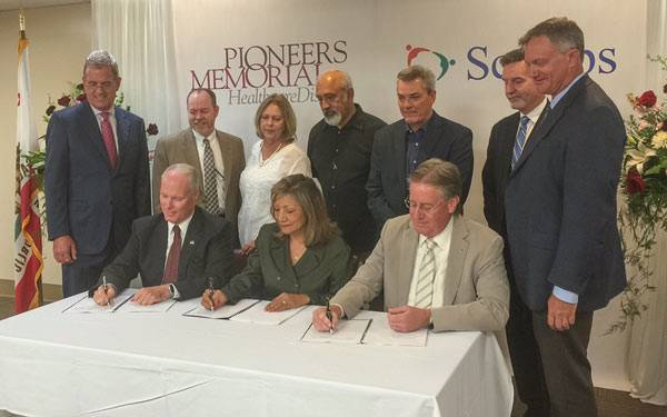 Scripps  Health and Pioneers Memorial  Affiliation
