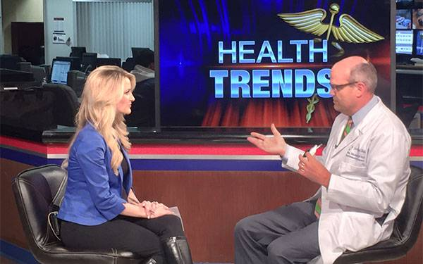 KUSI TV health segment interview features Steven Steinhubl, MD