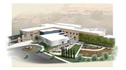 Scripps proton therapy center exterior rendering cms