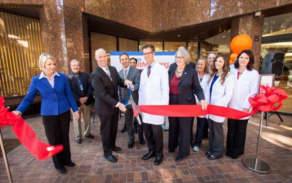 ScrippsHealthExpress_Ribbon Cutting, San Diego.