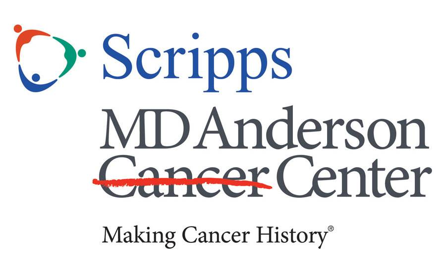 Scripps MD Anderson Cancer Center logo is a partnership that is an answer in a complex world, and is detailed in the blog.