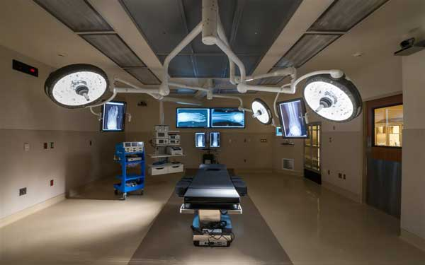 Two new state-of-the-art operation rooms will feature the latest in imaging and surgical technology.