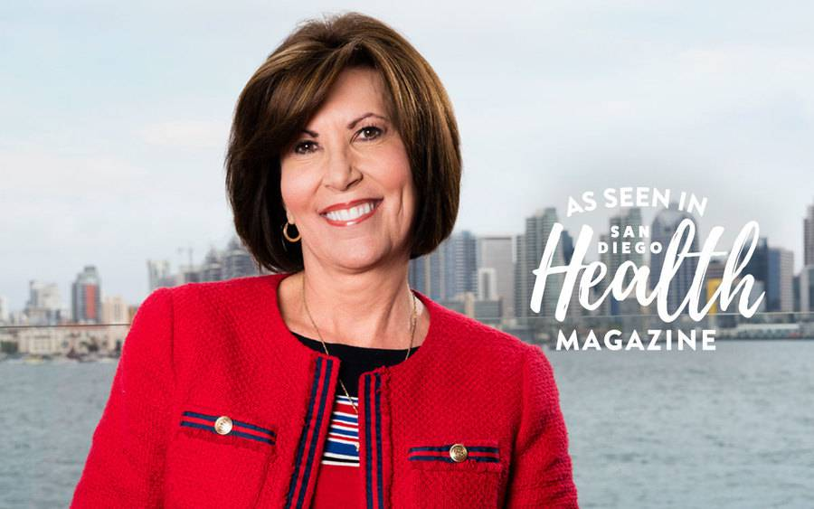 Civic leader Kris Michelle is featured in the latest issue of San Diego Health Magazine.