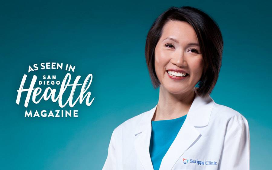 Dr. Geary represents the latest issue of San Diego Health Magazine, which focuses on primary care.