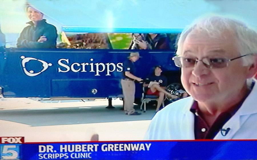 Physician Hubert Greenway, MD, Scripps Clinic.