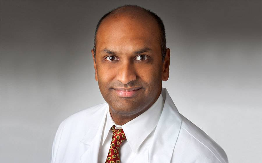 Dr. Sunil Rayan, new medical chief of staff at Scripps Memorial Hospital Encinitas