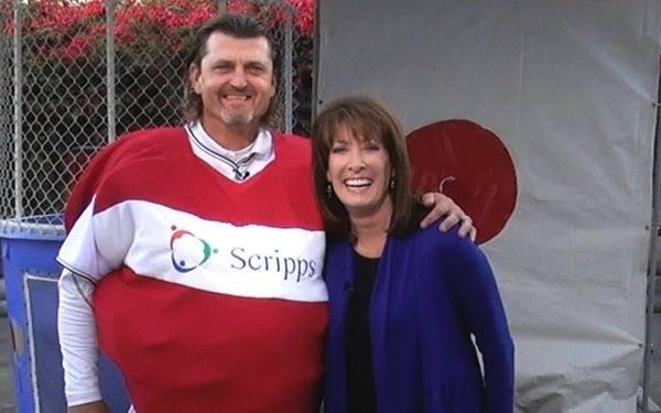 Trevor Hoffman and Susan Taylor