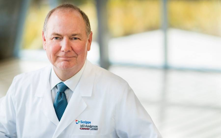 Scripps MD Anderson Cancer Center Medical Director Thomas Buchholz, MD.