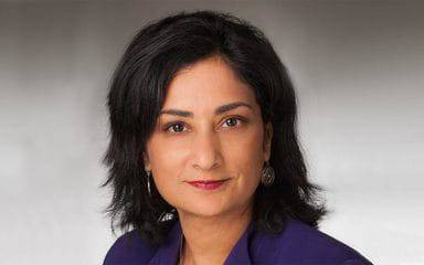 Ghazala Sharieff, MD, corporate vice president and chief experience officer at Scripps Health