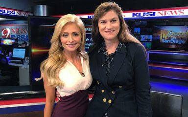 KUSI anchor Lisa Remillard and Scripps Health VP Lisa Thakur discuss the Scripps Opioid Stewardship Program.