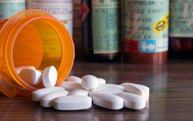 The opioid epidemic has been linked to opioid-based painkiller prescription pills.