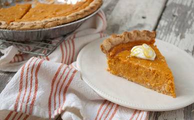 March 14 is National Pi Day, a day that has inspired many healthy recipes for pies, including sweet potato pie.