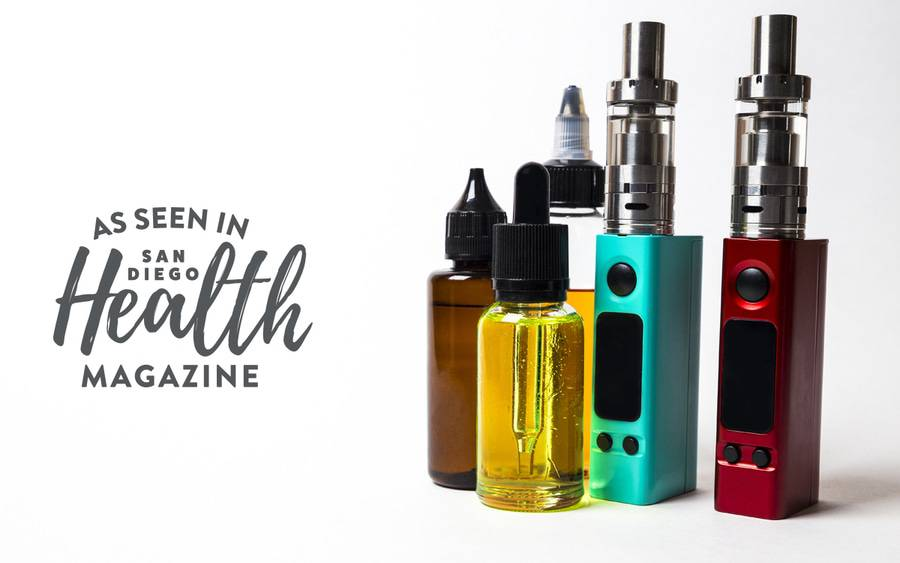 Despite their health risks, vaping devices like these electronic cigarettes have become increasingly popular among teens and young adults.
