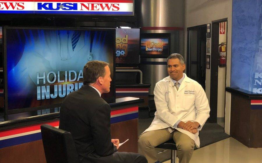 Vishal Bansal, MD, Scripps Mercy trauma director on KUSI