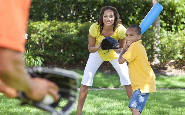 Ideas to encourage your child to be active.