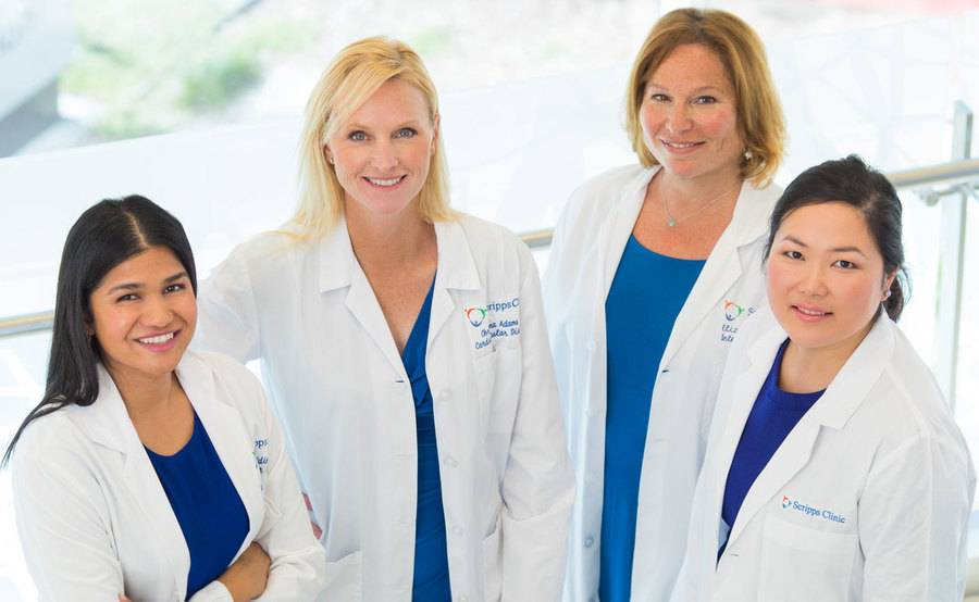 Cardiologists at the Scripps Women's Heart Center.