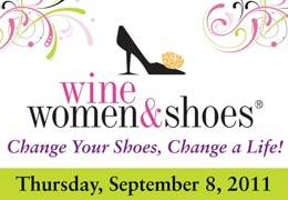 2011 wine women shoes logo