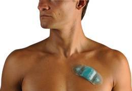 The Zio Patch can wirelessly monitor a patient's heart rhythm for up to 14 days.