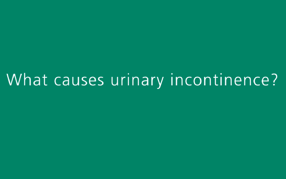 What Causes Urinary Incontinence? (video)